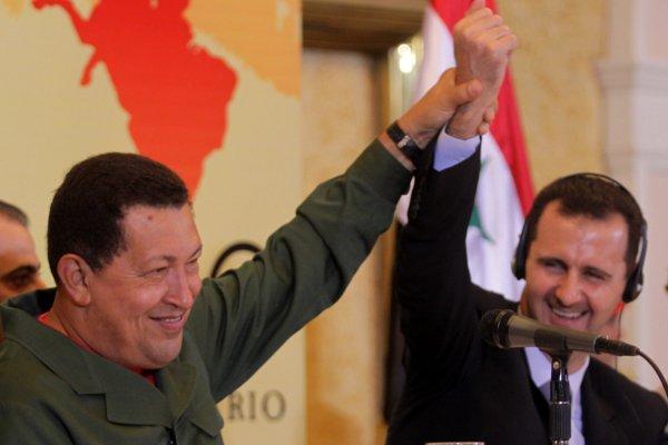 Chávez-AL-Assad